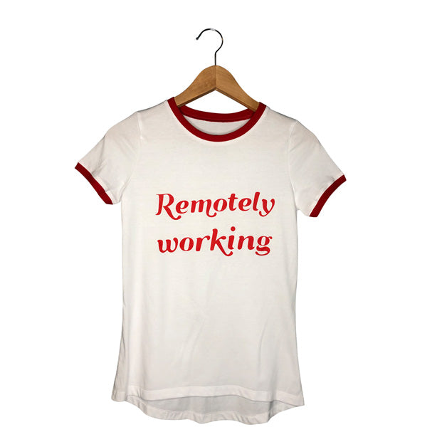 Remotely Working Women's Vintage Tee