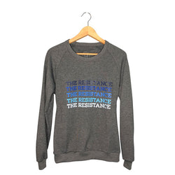 Womens protest sweatshirt | The Resistance