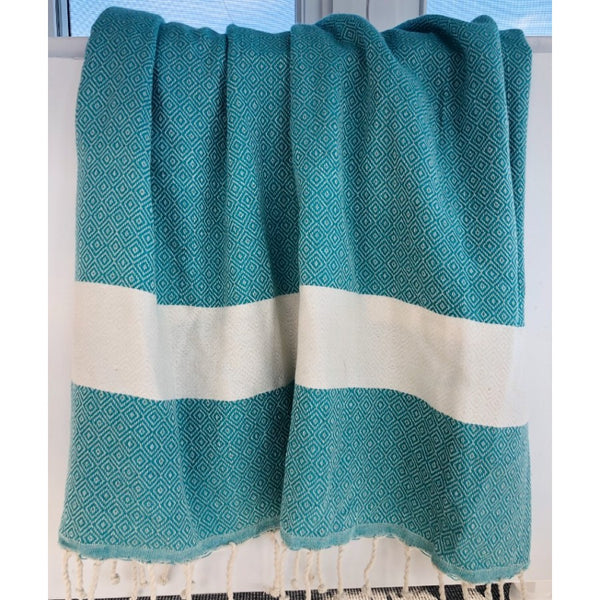 turquoise turkish towel image