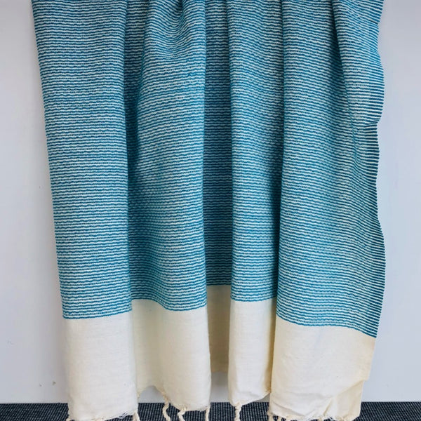 turquoise turkish towel