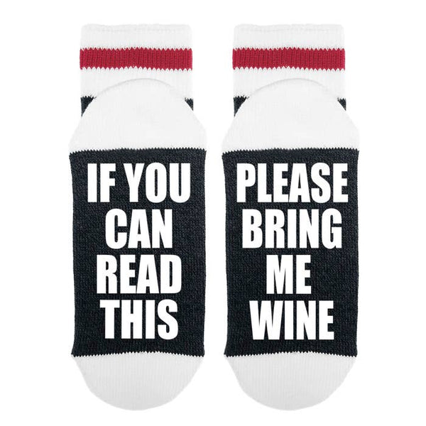 Women's wine socks