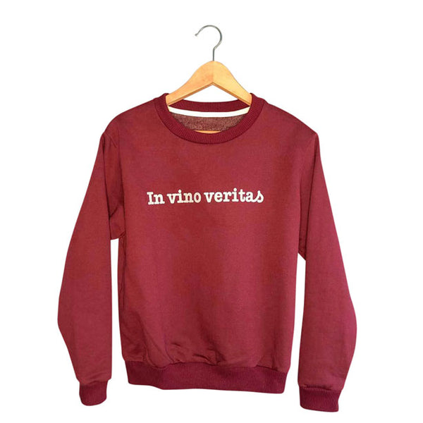 In Vino Veritas | Womens Wine Sweatshirt