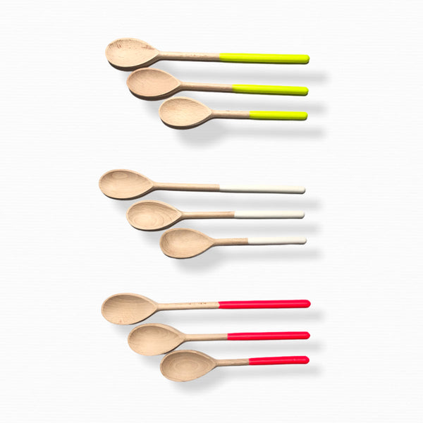 wooden spoons set of three