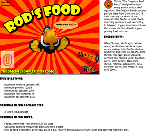 Rods Food Original Blend
