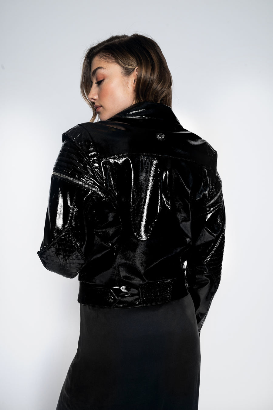 Luna Leather Jacket-Jacket-Christina Dienst
