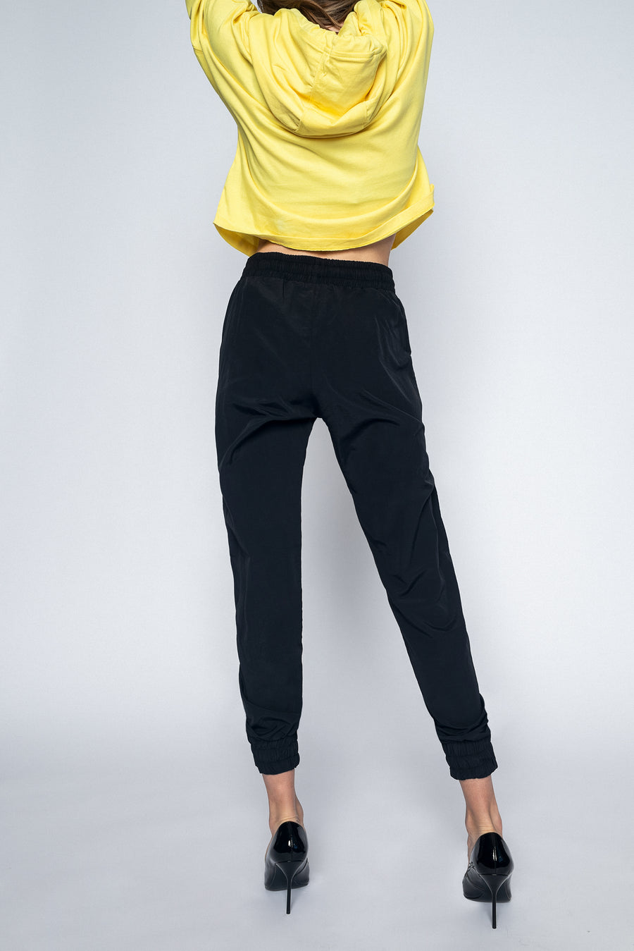 Opal Jogging Pants Black-Tops-Christina Dienst