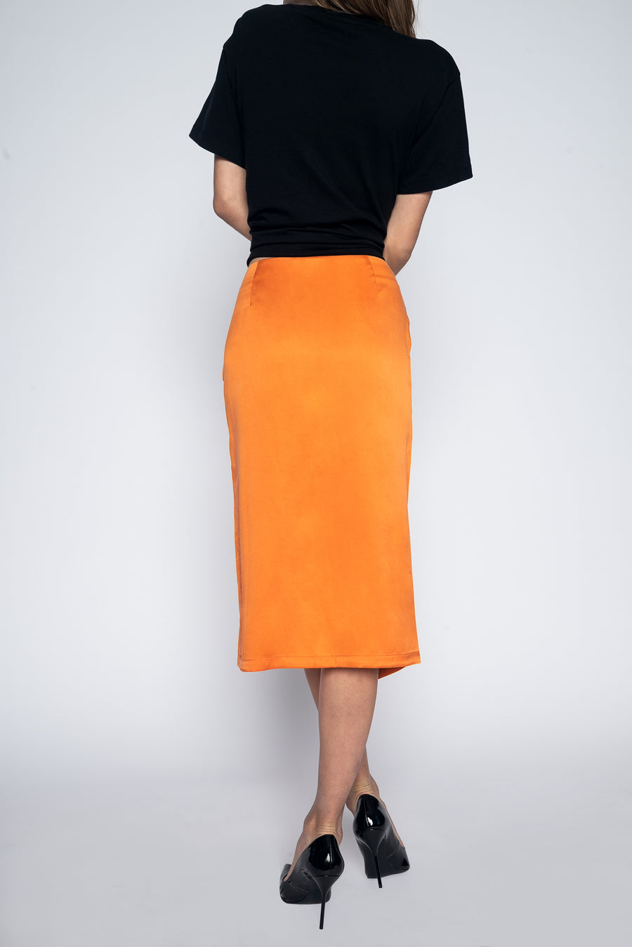 Tulip Skirt Pumpkin-Bottoms-Christina Dienst