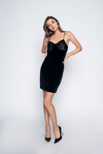 Lily Dress Black-Dress-Christina Dienst