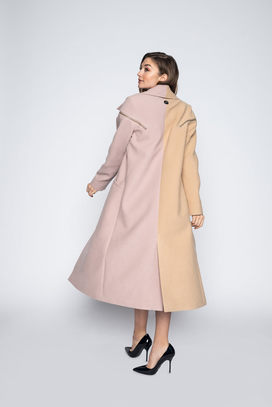 Hayley Wool Coat-Jacket-Christina Dienst