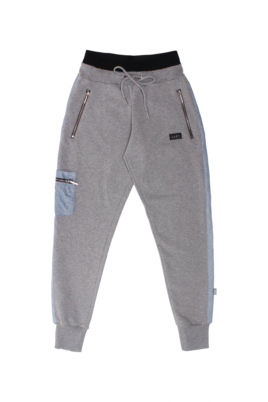 LAZY 2.0 Sweat Pants Gray-Bottoms-Christina Dienst