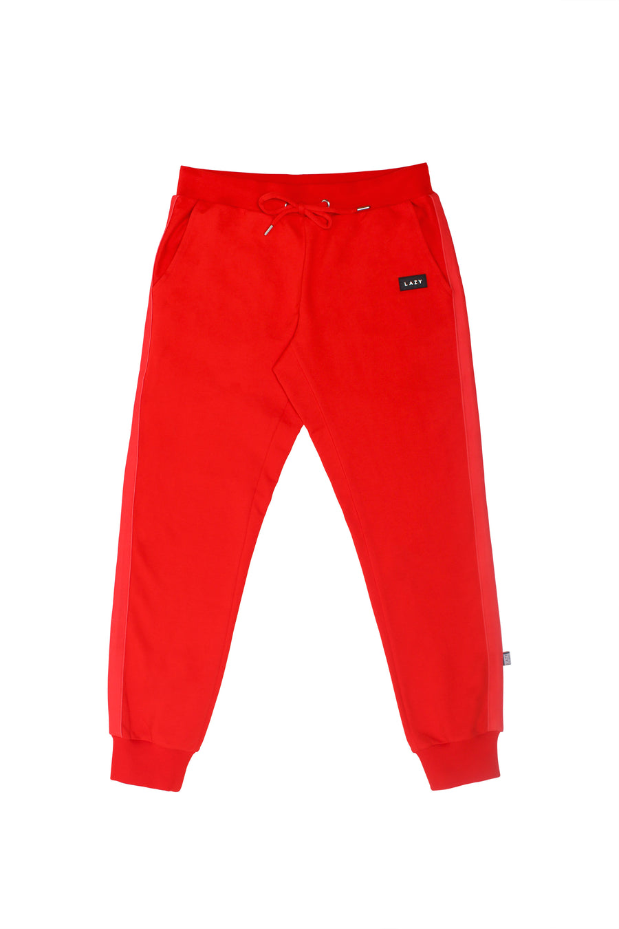 LAZY 1.0 Sweat Pants Red-Bottoms-Christina Dienst