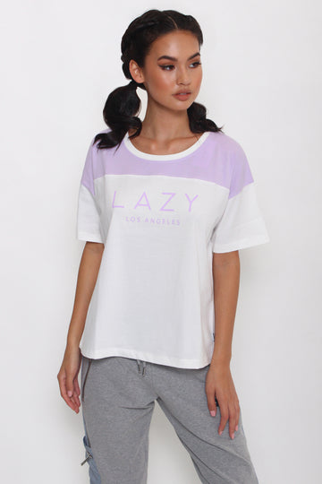 LAZY 2.0 T-Shirt White-Tops-Christina Dienst