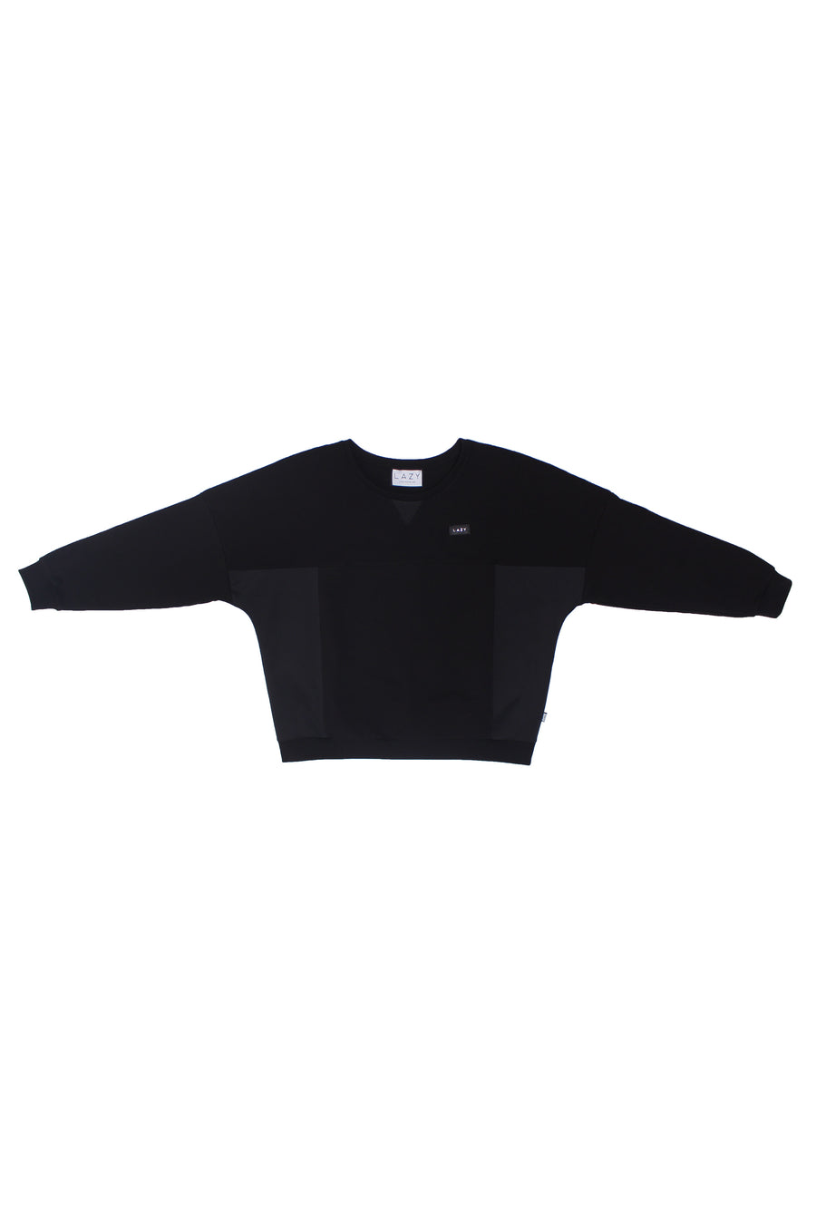 LAZY 1.0 Sweater Black-Tops-Christina Dienst