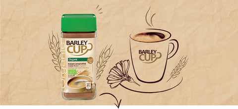 Barleycup, Where to buy barleycup Australia, caffeine free coffee, chicory coffee, Instant Cereal Drink