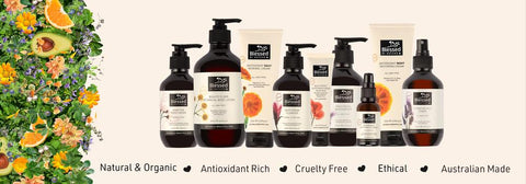 Blessed By Nature, Where to buy Blessed by Nature, Australian Made Skincare, Natural Skincare, Organic Skincare