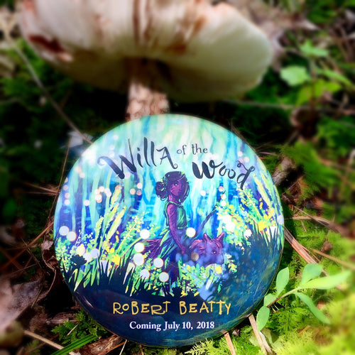 Button - Willa of the Wood