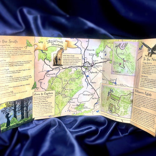 Adventure Map of Serafina and Willa's Mountains