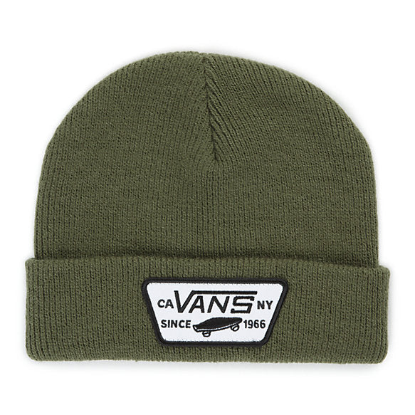 6858298f9fc ... Vans Milford Beanie Grape Leaf