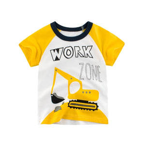 Summer Tee for Kids - Rock Road