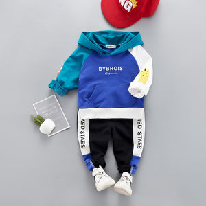 Long-sleeve Tee and Pants Spring Set for Kid