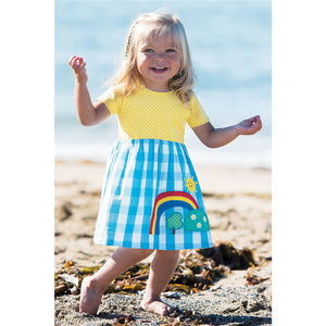Little Spring Dress for Young Girls - young lady