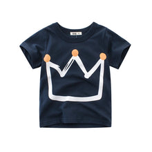 Laden Sie das Bild in den Galerie-Viewer, Summer Tee for Kids - Little King