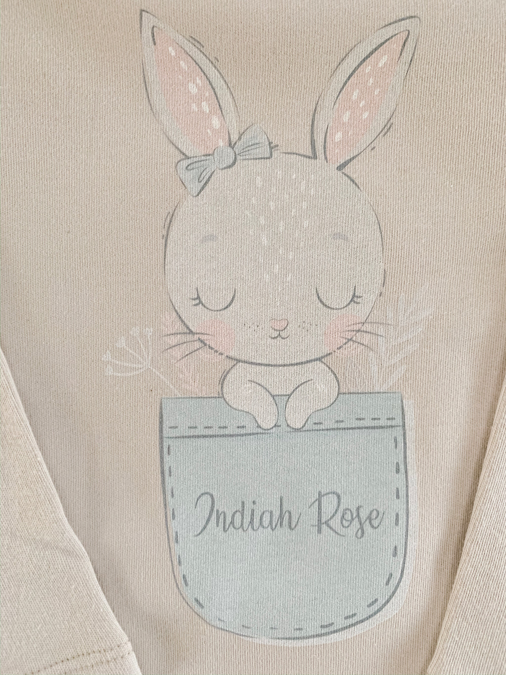 Bunny vest / t-shirt (GIRL design)