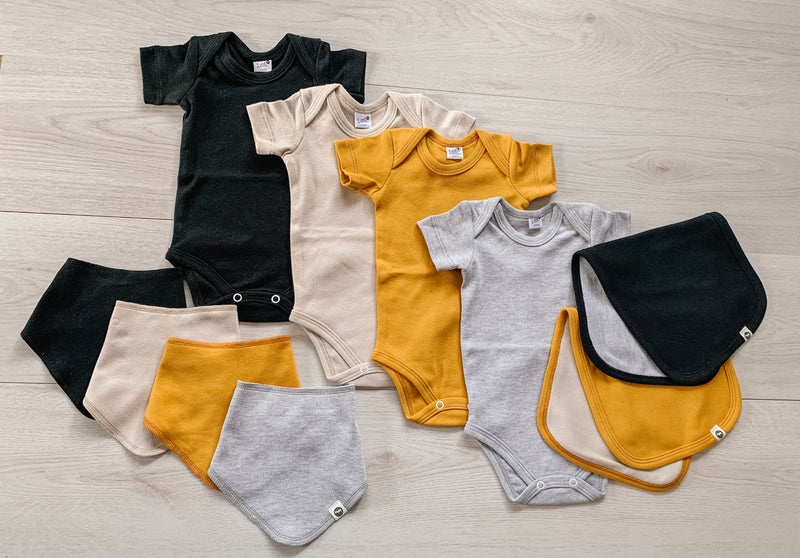 Baby basics collection - short sleeve