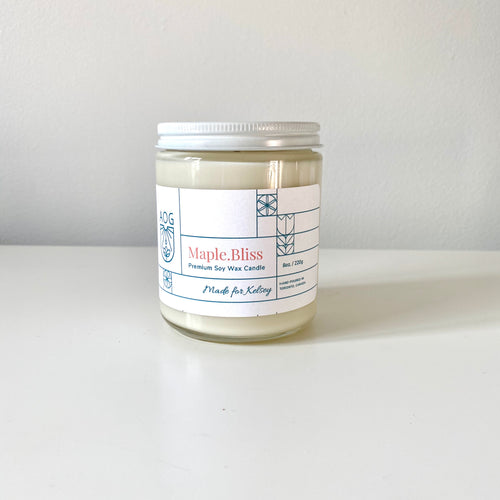 Maple.Bliss Candle