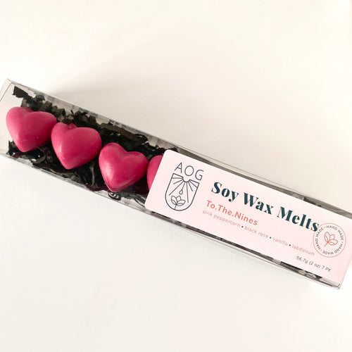 To.The.Nines Heart Wax Melt - Set of 7