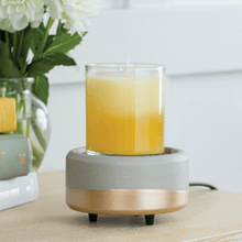Load image into Gallery viewer, Grey & Gold Brush 2-IN-1 Classic Warmer