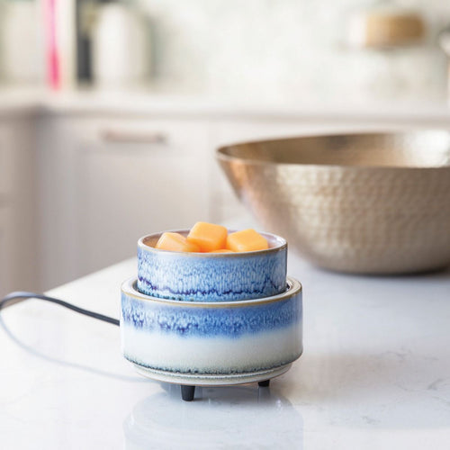 Blue Gradient 2-IN-1 Dish Warmer