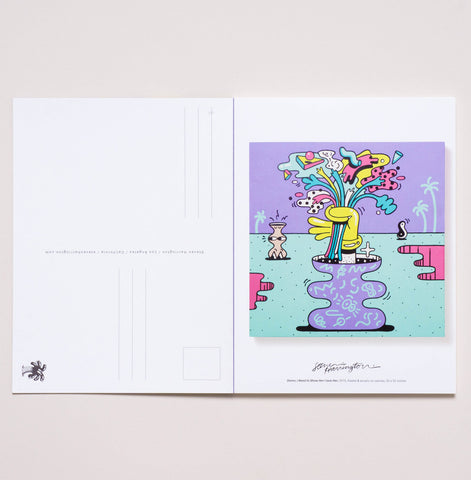 """Letters From Paris"" - A book of postcards"