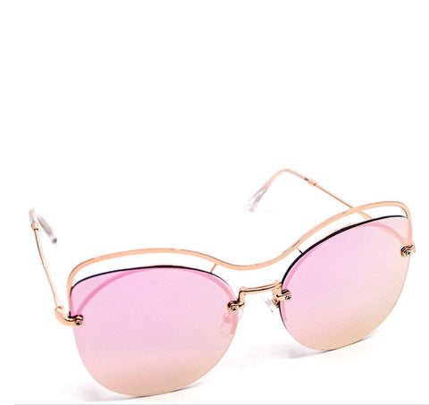 Oversized Cat Eye Sunglasses (Multiple Colors)