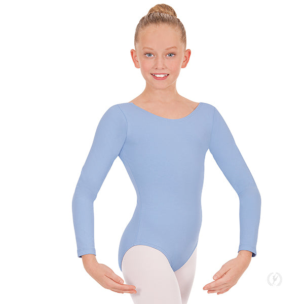 Eurotard Child Basic Long Sleeve Leotard