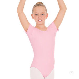Euortard Child Basic Short Sleeve Leotard