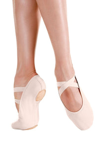 "So Danca ""Brio"" Split Sole Stretch Canvas Ballet"