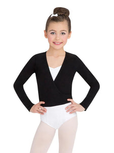 Capezio Child Cotton Wrap Top