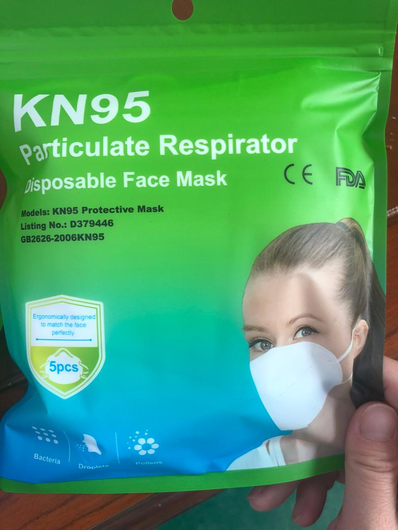 KN 95 Mask (Pack of 5)