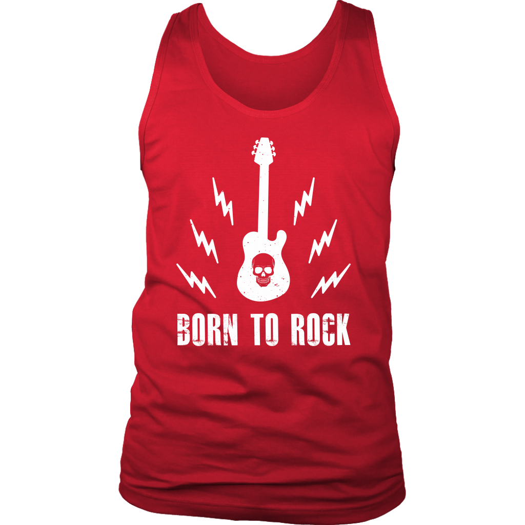 Born To Rock Tank Top