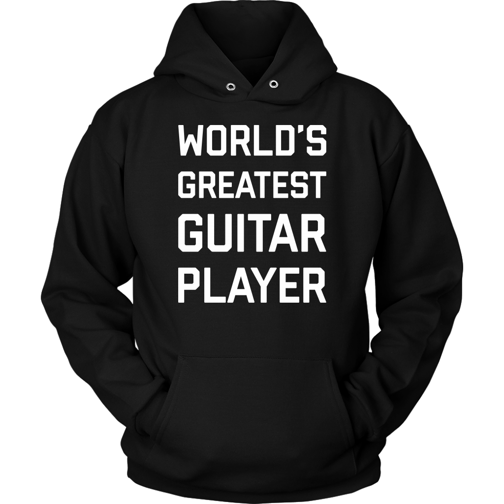 World's Greatest Guitar Player Hoodie