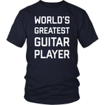 World's Greatest Guitar Player T-Shirt