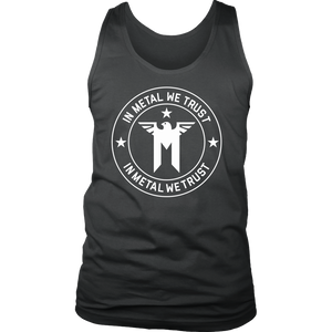 In Metal We Trust Tank Top