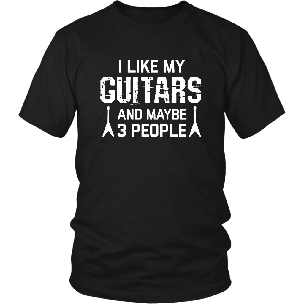 I Like My Guitars T-Shirt