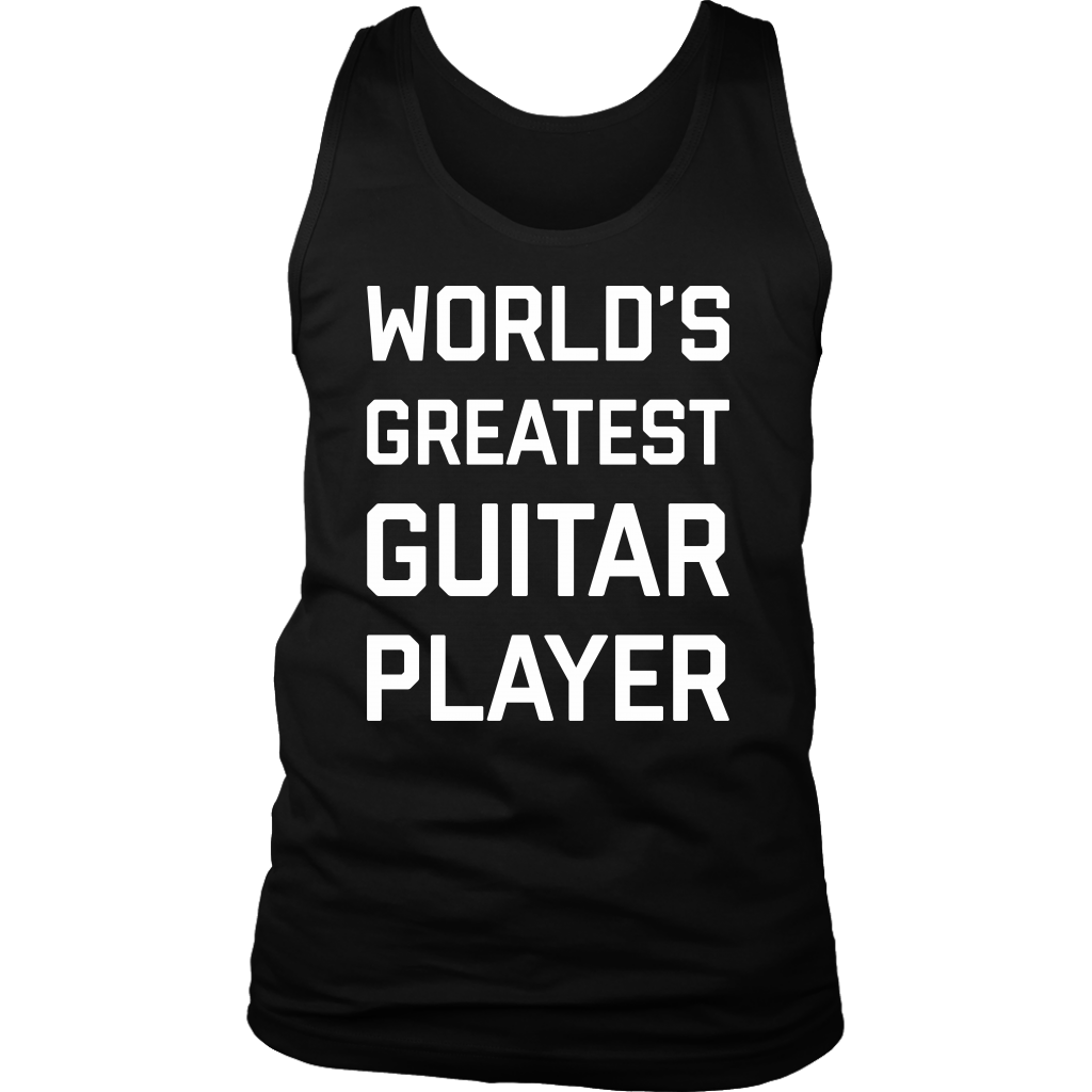 World's Greatest Guitar Player Tank Top