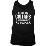 I Like My Guitars Tank Top