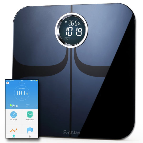 Body Fat Scale with Fitness APP & Body Composition Monitor