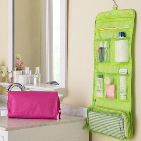 Hanging Toiletry Kit  Travel Storage (New)