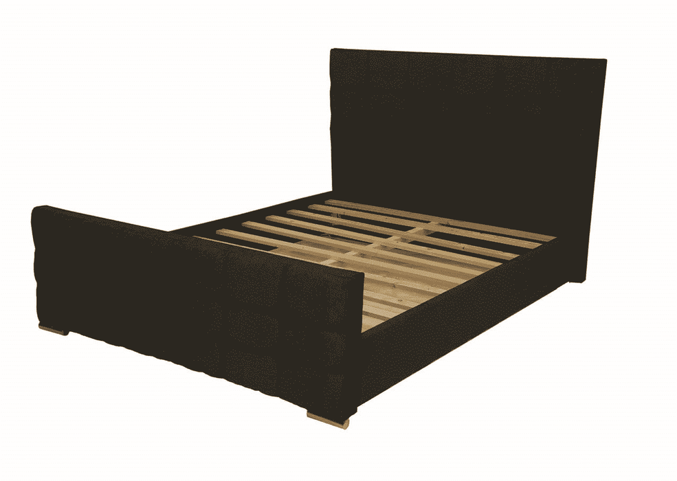 Tennessee Upholstered Sleigh Bed Frame