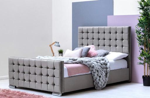 Fabulous Cube Design Sleigh Bed